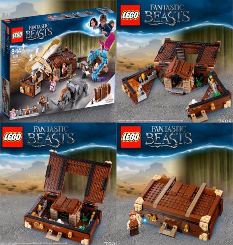 LEGO Fantastic Beasts Newt/'s Case Magical Creatures