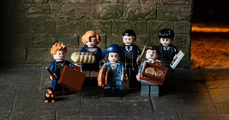 Fantastic Beasts Lego Figures