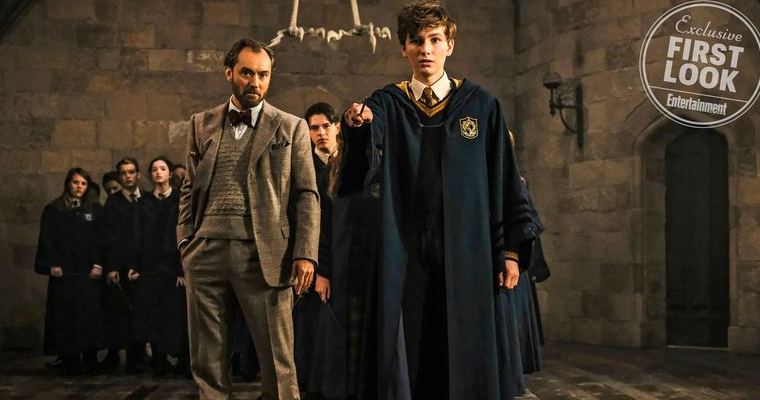 Crimes of Grindelwald Movie Still From EW
