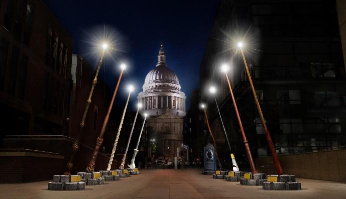 Wand Installation Set To Light Up London