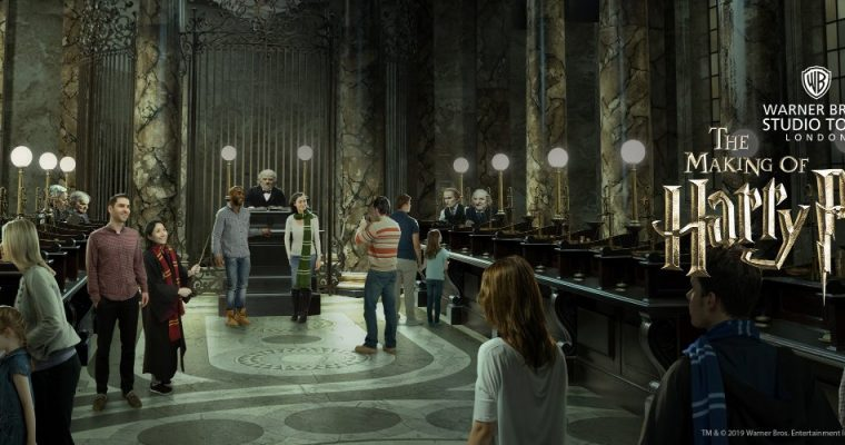 Gringotts Wizarding Bank Studio Tour Expansion