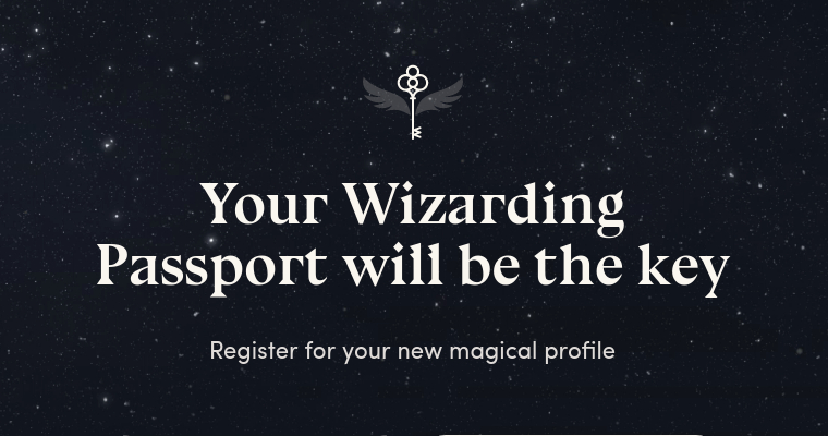 Wizarding World Digital: Wizarding Passport