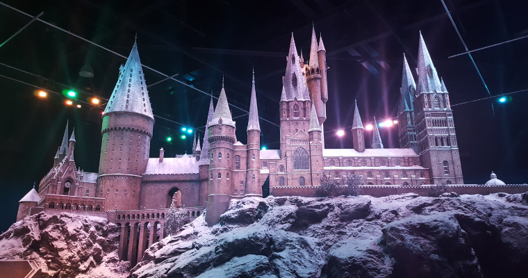 Hogwarts In The Snow at WB Studio Tour