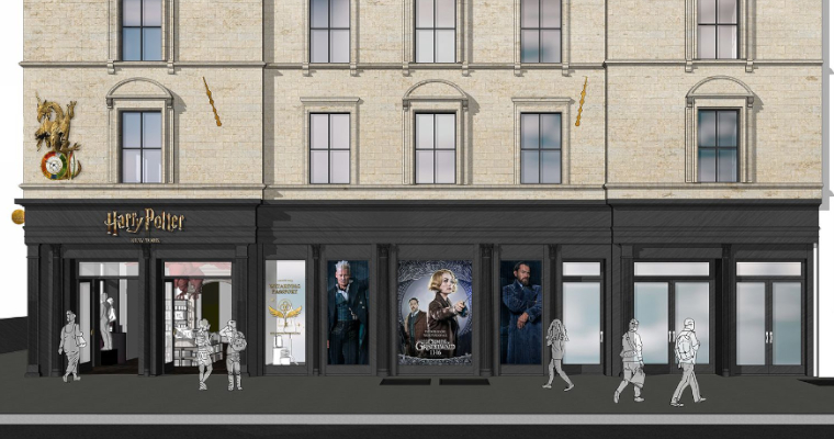 Wizarding World Flagship Store to Open in New York