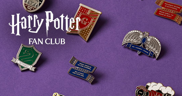 Harry Potter Fan Club Reveals Fantastic New Pin